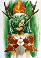 Queen Sadida by Darksoulyshiroyuki