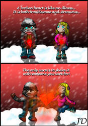 Cure an Aching Heart by LazarusGrimm
