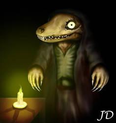 Corrupted Alchemist by LazarusGrimm