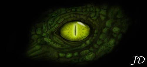 Eye of the Dragon by LazarusGrimm