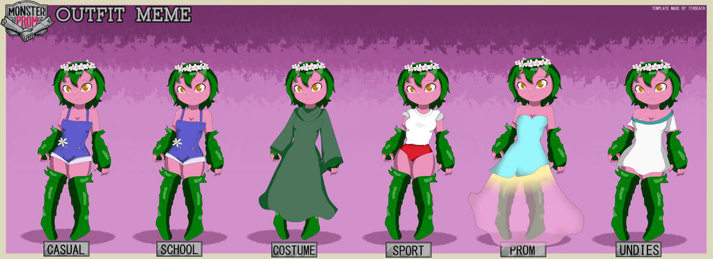 Rosa outfits by RachelTheMoth