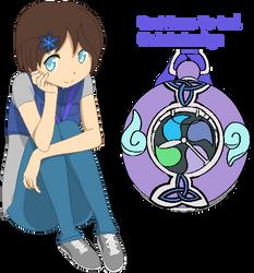 Yo-kai Watch: Megan Blizzard(Updated!) by shadowrosa6
