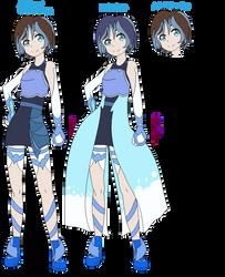 Yo-kai Watch: Megan Yo-kai form(updated!) by shadowrosa6