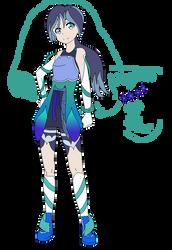 Yo-kai Watch: Megan YK form adaptation: Flowerwire by shadowrosa6