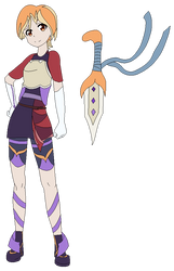 Yo-Kai Watch: Yuki Megan by shadowrosa6