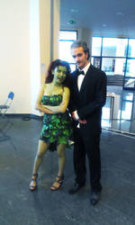 Alfred Pennyworth(me) and Poison Ivy(KirinCosplay) by Over9000Desu