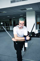Roronoa Zoro, My First Cosplay by Over9000Desu