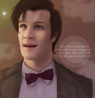 The Eleventh Doctor's quote. - Doctor Who by AkiraKyoo