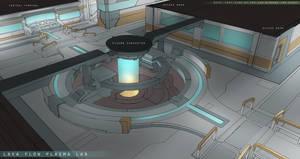 Lava Flow Sub Level Laboratory Design by FranklinChan