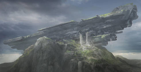 Ancient Crash Site by FranklinChan