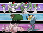 Clutch x 3 - Ralts, Skiddo, Scyther! by xXAuraTaurusXx