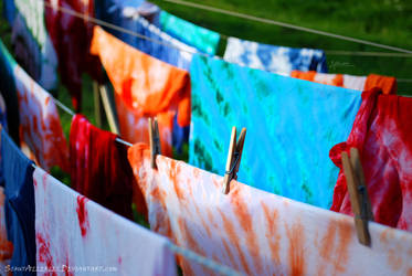 Batik t-shirts by ScoutAllerlei