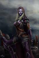 Sylvanas Windrunner - World of Warcraft - BfA by KiwiStarling