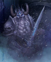 Muradin Lich King by IvanShalam