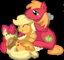 Apple siblings by pepooni