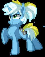 Krash Storm - Pony OC by pepooni