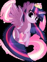 Princess Twilight Sparkle by pepooni