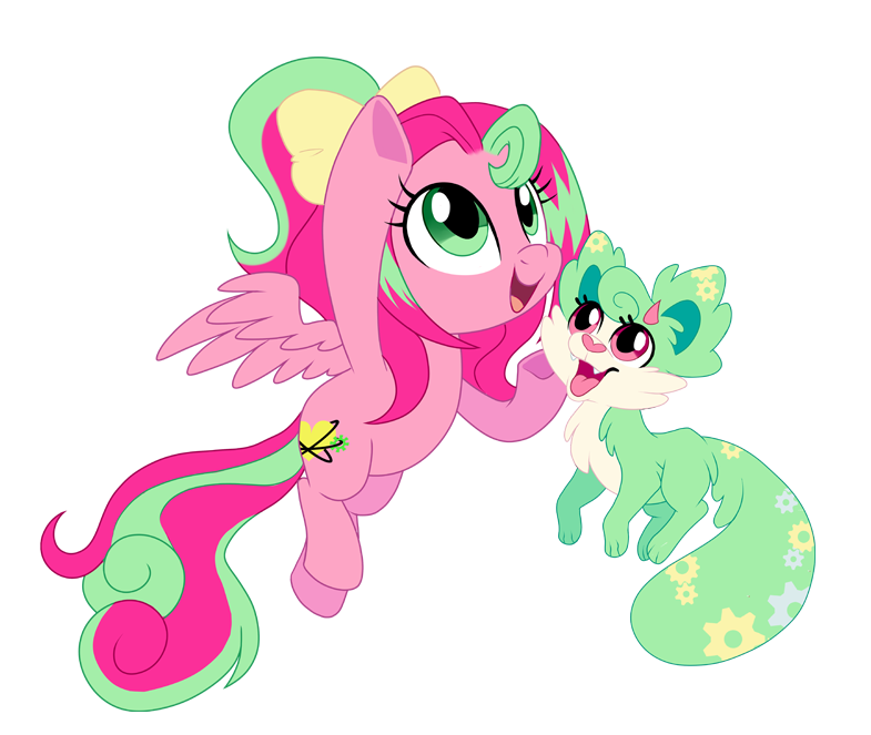 Precious and Gadget by pepooni