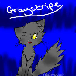 Graystripe  by Nightfrost25