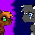 Nightfrost and Ivypaw by Nightfrost25