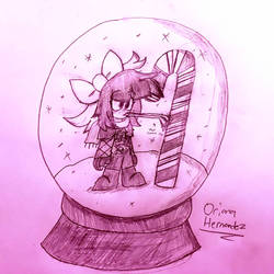 Snow Globe by lalakun0123