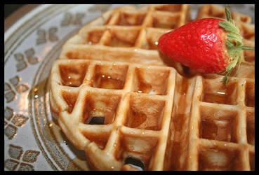 Vegan Waffle by ifoundnemo