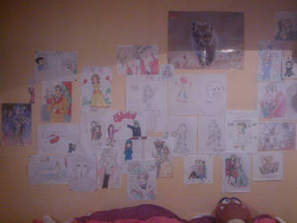Just.. LOOK AT MY WALL! by daisy010100
