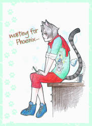 waiting for Phoenix by daisy010100