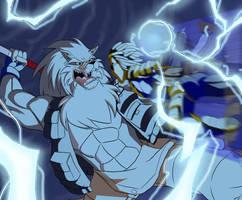 Shred vs. Voltage by Aeolus06