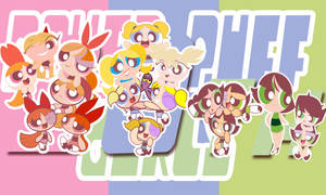powerpuffgirls 20th by j5ajj