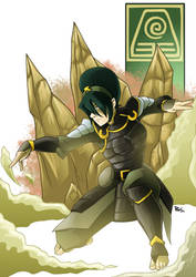 +Toph Bei Fong+ by chickenMASK
