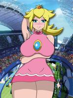Tennis Peach by sumawesum