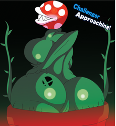 Piranha Smash Plant by sumawesum