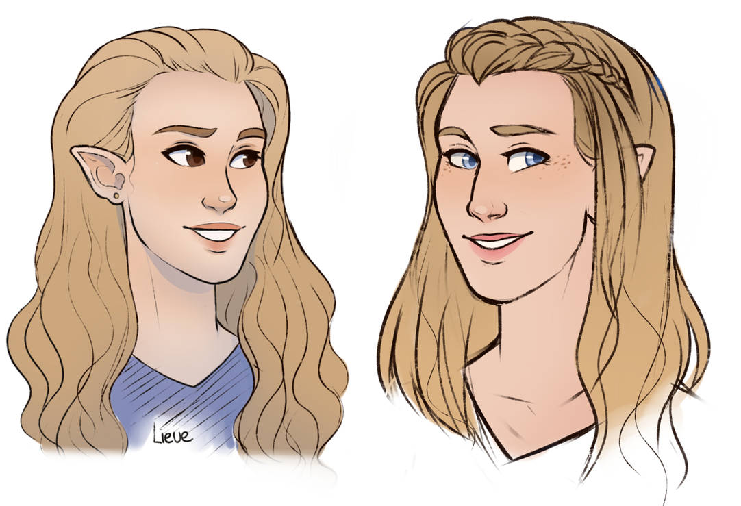 Vera and lieve comparisment by RomyvdHel-Art