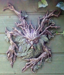 Green Man by PaulineMoss