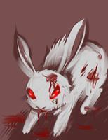 Killer rabbit of doom by AnnaGiladi