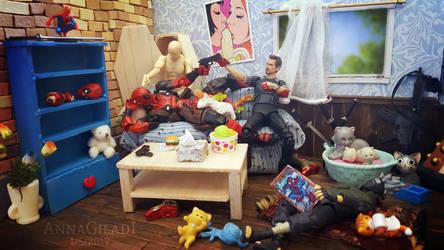 Roommates by AnnaGiladi