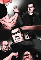 Evil Cooper gets angry by mikebloodslaver