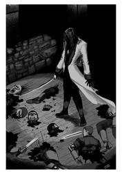 Vampire Antoine by mikebloodslaver