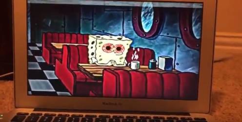 Spongebob... Are you Okay? by SonicArtzz