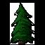 Pine Tree [F2U] by blue-pixellated