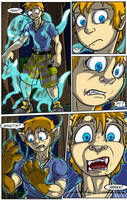 Woods Spirits (Fox Fursona Transformation Page 1) by LightningTheFox7