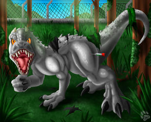 Jurassic Changes - Indominus Rex TF by LightningTheFox7