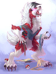 Trainer Evolving by LightningTheFox7