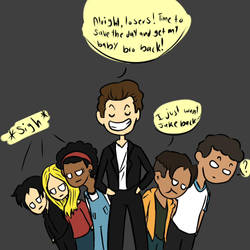 Animorphs AU: What If Tom was the Leader? by ikriam