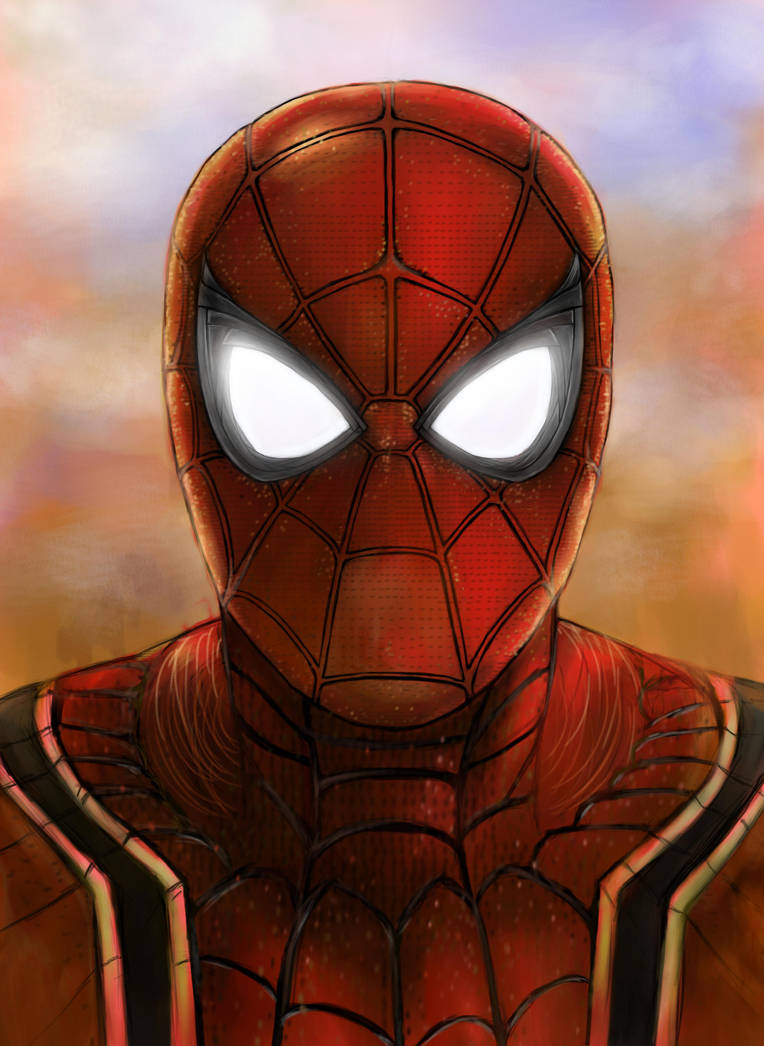 Spider man/ Avengers: Infinity War by foxenergy