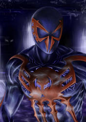 Spider-man 2099 by foxenergy