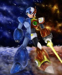 Megaman X vs Zero by foxenergy