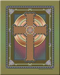Celtic Knot Cross by xshelaghx