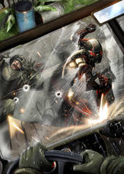 Crysis - by DanLuVisiArt